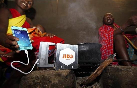 Spark – Специално-разработеното зарядно устройство за слаборазвитите страни ползва топлината на огнището