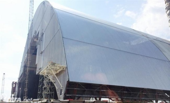 Украйна – ЧАЕЦ – На 29 ноември ще поставят защитната арка над 4-ти блок
