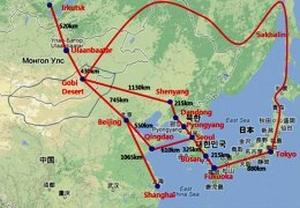 Азиатският енергиен супер-пръстен
