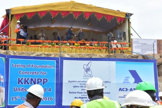 Започнаха строителните дейности по изграждане на 3-ти и 4-ти блок на АЕЦ Куданкулам в Индия – подробности