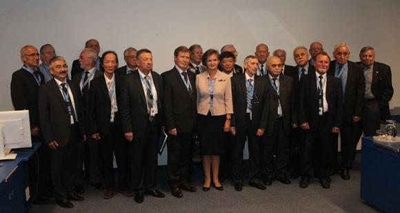 Ръководителите на организациите на ветераните от страните-партньори на Горивната компания бяха наградени с паметни знаци «20 лет АО «ТВЭЛ»