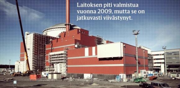 """Финландия – опасност от ново забавяне изграждането на АЕЦ """"Олкилуото-3"""""""