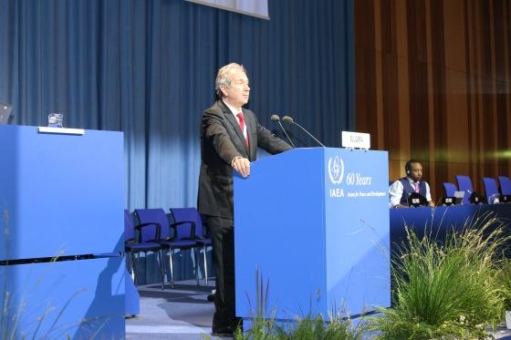 Българската делегация на 60-та юбилейна сесия на Генералната конференция на МААЕ – фото репортаж