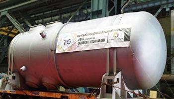 Новият корпус на реактора за Беларуската АЕЦ ще бъде изпратен в края на октомври