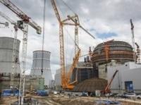 На строежа на Ленинградската АЕЦ започна натягането на армираните въжета