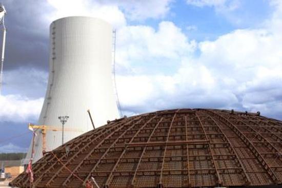 НВАЕЦ-2 – Бетонирането на купола на ядрения остров на втори енергоблок е изцяло завършено