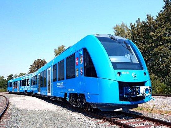 В Германия ще започне серийното производство на водородни влакове