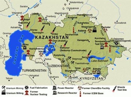 В Казахстан обсъждат 5 площадки за изграждане на АЕЦ