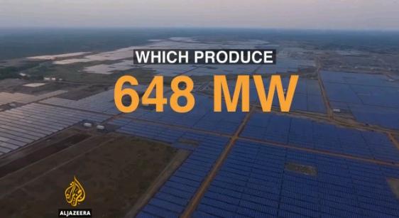 Индия – За рекорден срок бе построена най-мощната слънчева електроцентрала в света