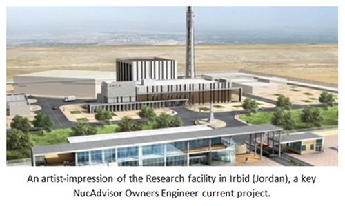 Йордания обяви, че е завършила строителството на първия изследователския реактор