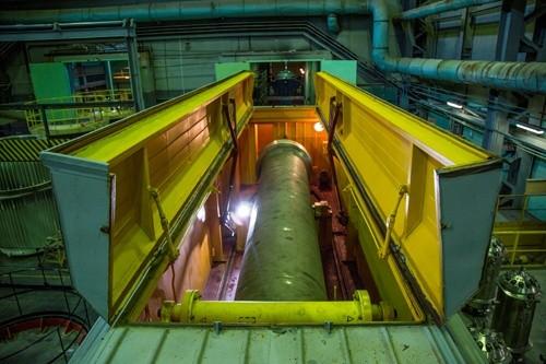 Първата касета с ОЯГ от реактора АМБ на Белоярската АЕЦ пристигна в ПО «Маяк»