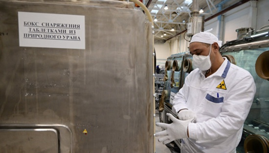ТВЭЛ подписа договор за доставка на гориво за експерименталния РБН CEFR в Китай