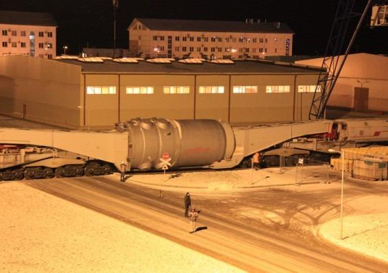 Специалистите не намериха повреди по корпуса на новия реактор за Беларуската АЕЦ