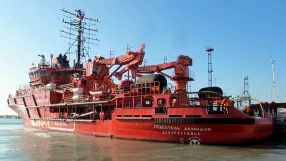 В издирвателно-спасителните операции в района на катастрофата с Ту-154 участва модерен специализиран кораб
