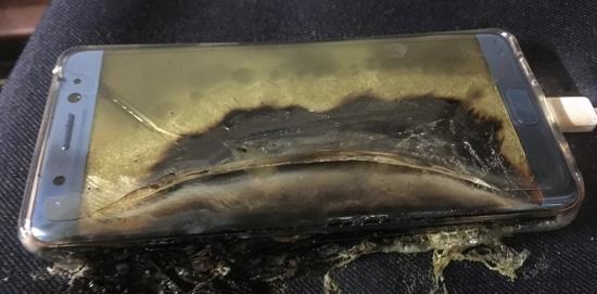 Южнокорейската Samsung изследва и намери причините за самозапалването на смартфоните Galaxy Note 7