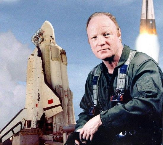 """Почина първият командир на екипажа на съветския космически кораб """"Буран"""""""