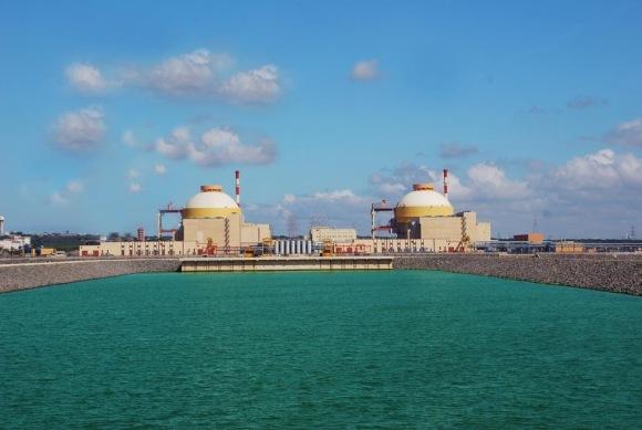 """Втори енергоблок на индийската АЕЦ """"Куданкулам"""", който се изгражда от руската ASE, бе изведен на 100% мощност"""