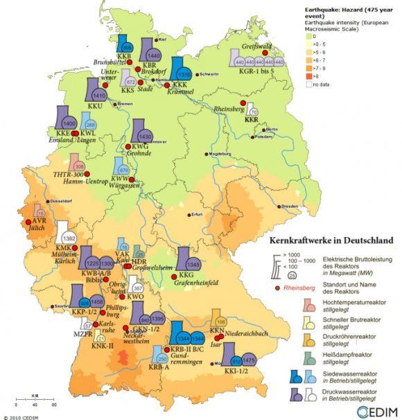 Германия – Федералният конституционен съд потвърди компенсациите за преждевременното спиране на АЕЦ