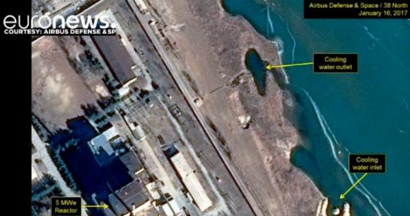 Американските аналитици твърдят, че КНДР е рестартирала реактора в Йонбен