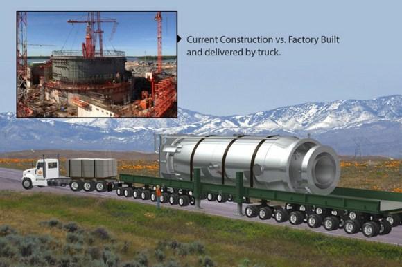 В САЩ се разработва мобилна атомна електроцентрала