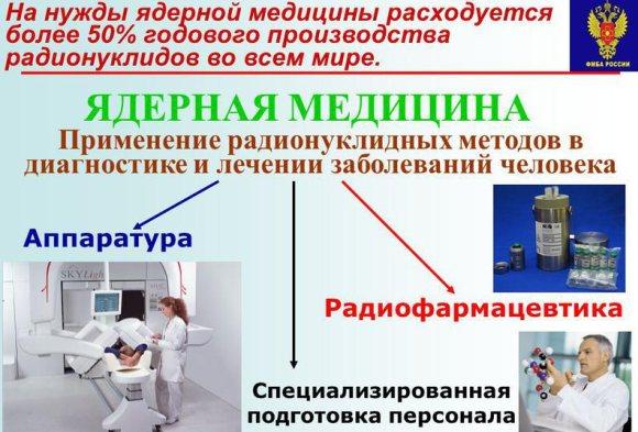 """""""Росатом"""" създава компания за промотиране на ядрената медицина на световните пазари"""