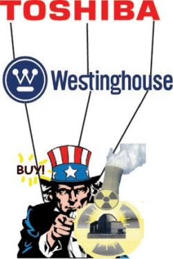 """""""Westinghouse"""" все повече тегли към дъното японския гигант """"Toshiba"""""""