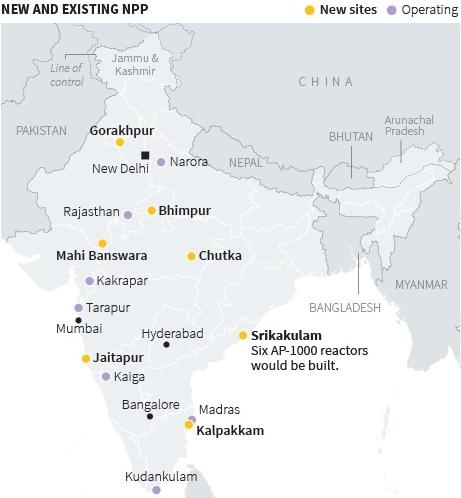 AP-1000 – не дава покой на Индия