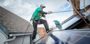През миналата година в САЩ са монтирани над 14 GW нови слънчеви панели