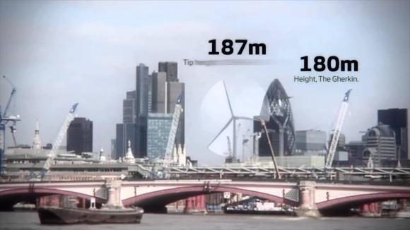 Дания – Изпитания на най-мощната вятърна турбина в света