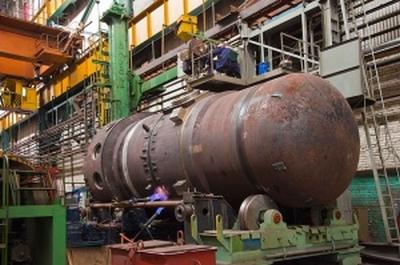 """В """"ЗИО-ПОДОЛСК"""" генералният директор на """"АТОМЕНЕРГОМАШ"""" Андрей Никипелов инспектира производството на ядрените установки за новите атомни ледоразбивачи"""