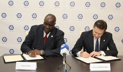 Русия и Замбия подписаха междуправителствено споразумение за сътрудничество в ядрената област