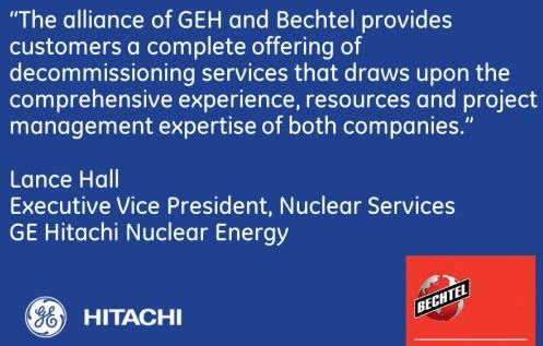BECHTEL и GEH създадоха алианс за извеждане от експлоатация на АЕЦ в Европа