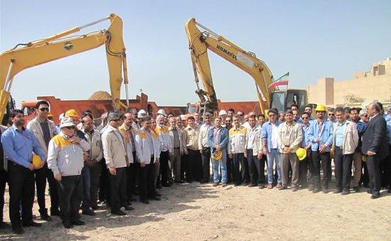 """На площадката на АЕЦ """"Бушер-2""""започна етапът на строително-монтажните работи"""