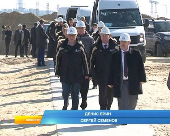 Строителните дейности на Курската АЕЦ-2 вървят с изпреварващ темп