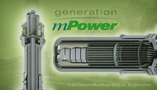 Проектът mPower за малки модулни реактори се закрива