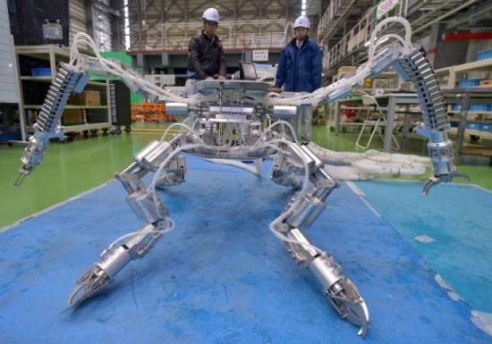 В Япония е създаден робот-паяк, способен да работи при високо ниво на радиацията