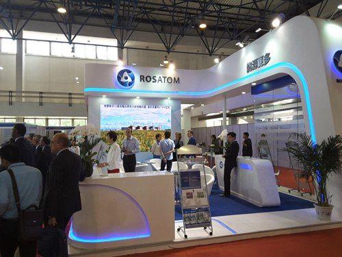 Росатом участва в XII международна изложба на технологии и оборудване за ядрената енергетика в Китай