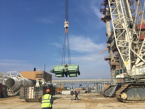 НВАЕЦ-2 – Започна монтажът на топлообменниците за СПОТ на втори енергоблок