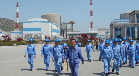 """На четвърти енергоблок на китайската АЕЦ """"Тянван"""" приключи монтажът на главния циркулационен тръбопровод"""