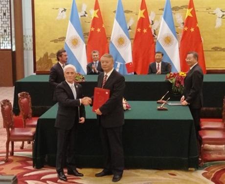 Аржентина и Китай подписаха генерален договор за два енергоблока