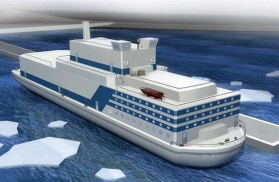 Китай има намерение да построи флотилия от плаващи атомни електроцентрали
