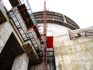 Херметичната черупка на зданието на реактора на първи блок на ЛАЕЦ-2 е готова за експлоатация