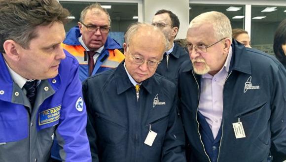 Юкия Амано отбеляза особената роля на Русия за развитието на ядрената енергетика