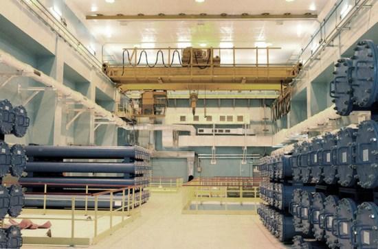 Ленинградска АЕЦ-2 – хранилището за свежо ядрено гориво на първи енергоблок е сдадено за временна експлоатация