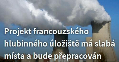 """Франция – Поради """"незадоволителна техническа зрялост"""" проектът на дълбочинното хранилище за ядрени отпадъци ще бъде преработен"""