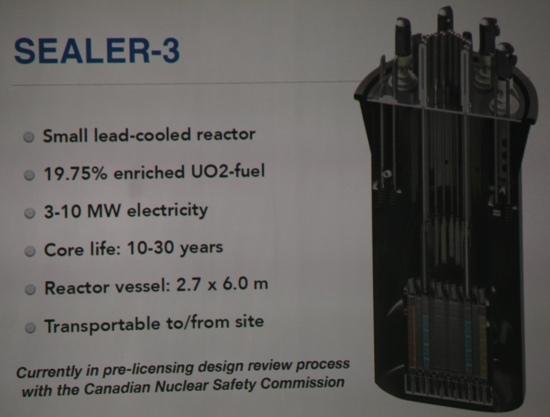 Ехо от международната конференция FR17 – шведският реактор на бързи неутрони SEALER