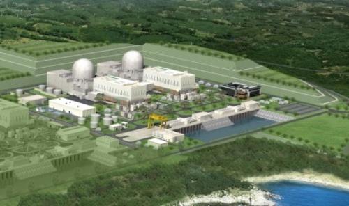 Изграждането на два корейски ядрени енергоблока временно е спряно
