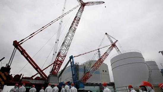 """Започна монтажът на саркофага над трети ректор на АЕЦ """"Фукушима-1"""""""