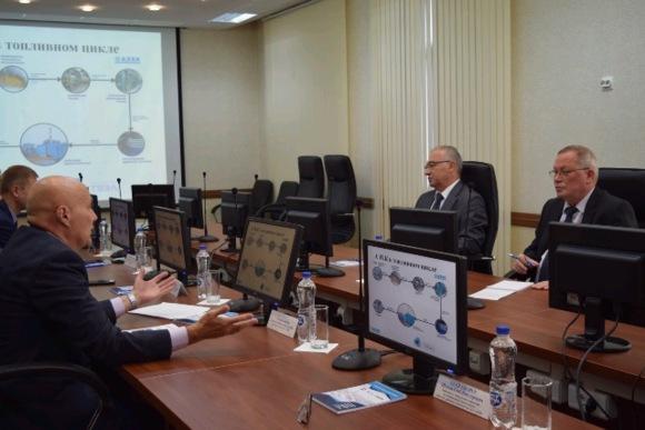 Българските партньори високо оцениха безопасността и качеството на производството на Ангарския електролизен химкомбинат