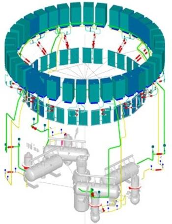 Ленинградска АЕЦ – На строящия се първи енергоблок успешно преминаха изпитанията на системата за пасивно отвеждане на топлината (СПОТ)
